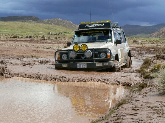 Offroad 4x4 in Bolivia